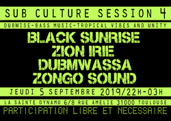 Flyer Sub Culture Session #4