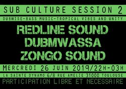 Flyer Sub Culture Session #2