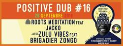 Flyer Positive Dub #16