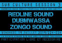 Flyer Sub Culture Session 3