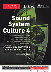 Flyer Sound System Culture 4