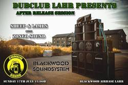 Flyer Blackwood Sound System - Sheep & Lambs meets Zongo Sound