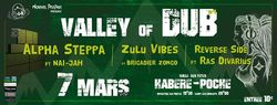 Flyer Valley of Dub